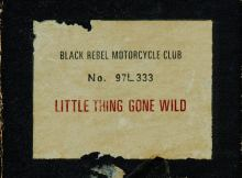 """Little Thing Gone Wild"" by Black Rebel Motorcycle Club 8"
