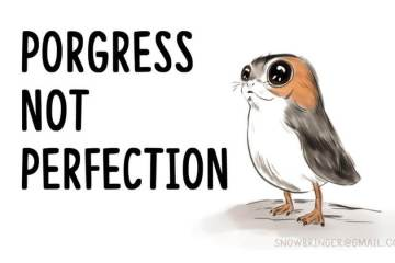 porgress not perfection