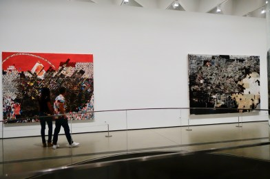 paintings at The Broad