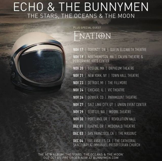 Echo & the Bunnymen North American Fall 2018 Tour dates! 1