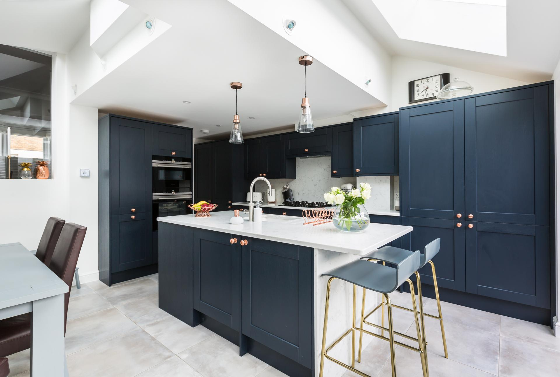 Interior Photography for a new kitchen extension in SE22