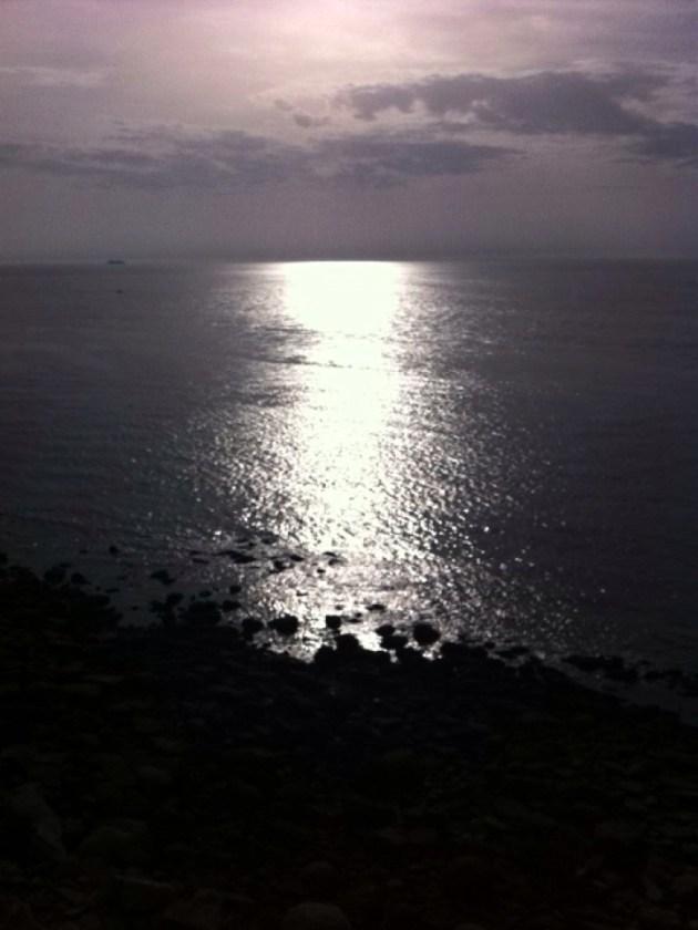 Cap gris nez 觀景台的陽光景致