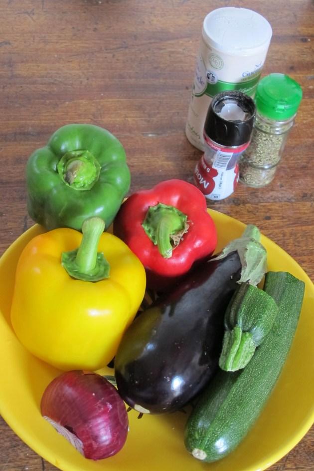 義式烤蔬菜沙拉