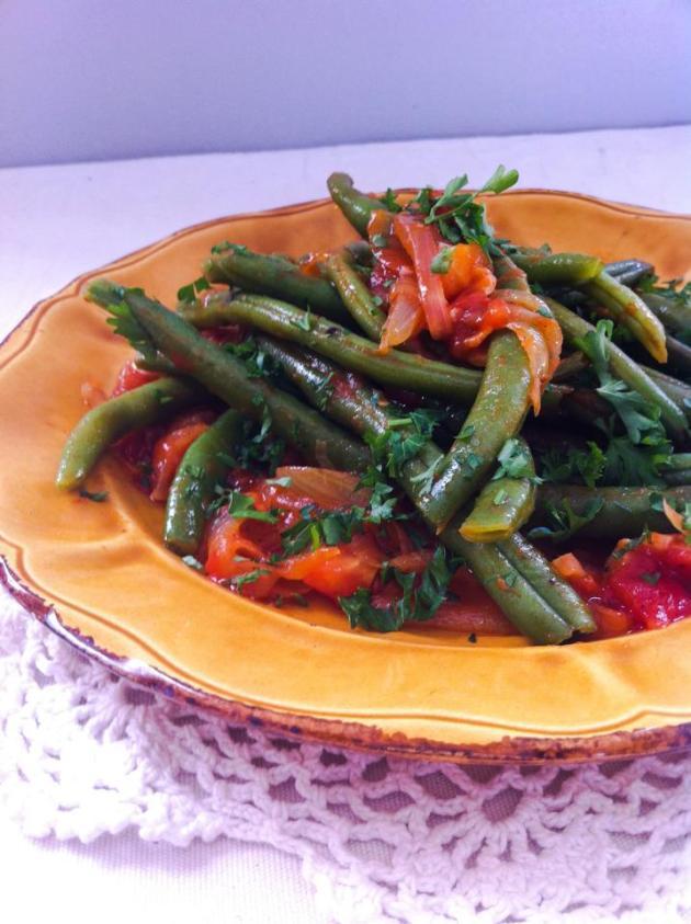 法國創意家常料理-四季豆番茄風味溫莎拉-1