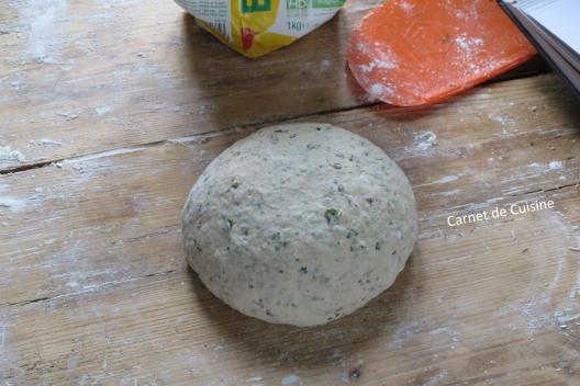 法國手工麵包-羅勒橄欖油麵包Le pain de basilic-5