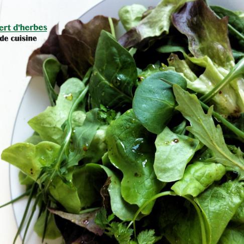 香草綠色沙拉