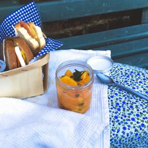 甜橙干邑酒甜湯Soupe d'orange et grand marnier