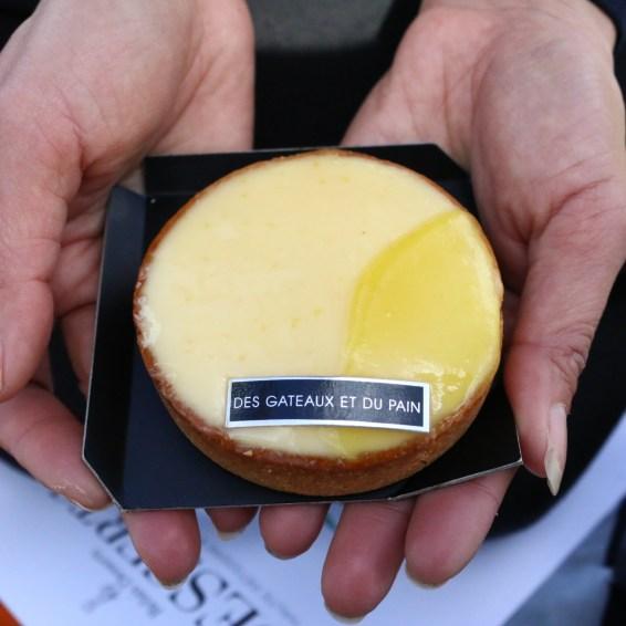 2017年巴黎票選第ㄧ名的檸檬塔 來自Claire Damon