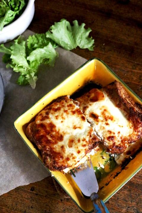烤乳酪嗑先生CROQUE- MONSIEUR AU FOUR-3