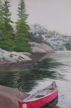 Red Canoe, Killarney, Lianne Todd