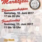 Walking Act Plakat Marktfest Schonnebeck Essen 2017