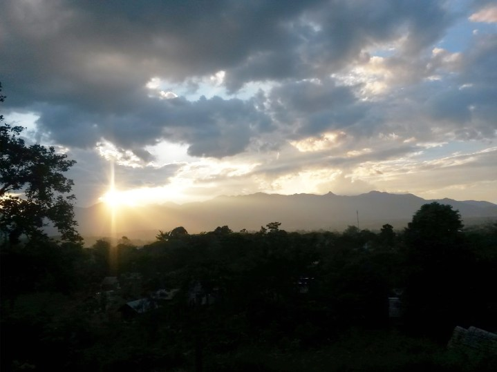 Gorgeous sunsets in Pai
