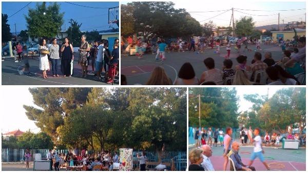 καλοκαιρινή γιορτή από το δημοτικό σχολείο Αγίου Θωμά Ταναγρας