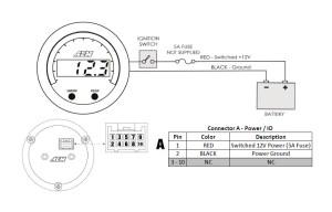 How to Install AEM Electronics XSeries Voltmeter Gauge