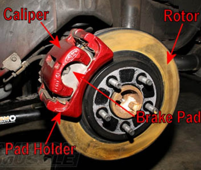 Mustang Brake System Overview