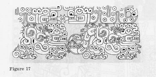 Chavin feline and serpent representations