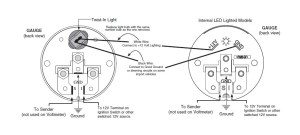 How to Install Auto Meter Oil Pressure Gauge  Electrical