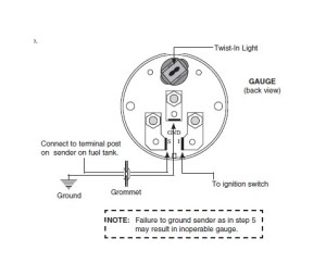 How to Install Auto Meter Oil Pressure Gauge  Electrical  Jeep Logo on your 8718 Jeep