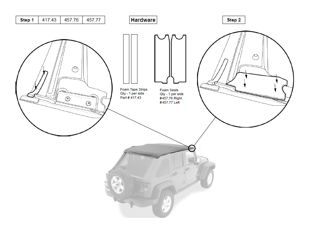 How To Install A Bestop Trektop Nx On Your Jeep