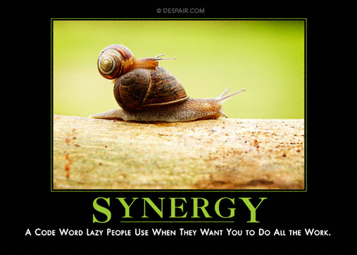 Synergy Demotivator
