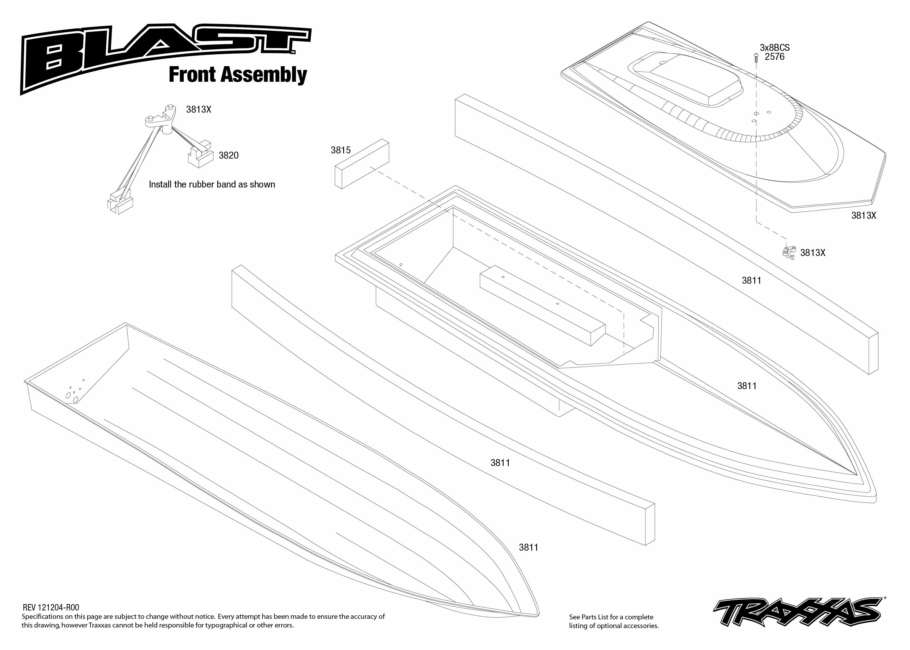 Traxxas Blast Electric Race Boat