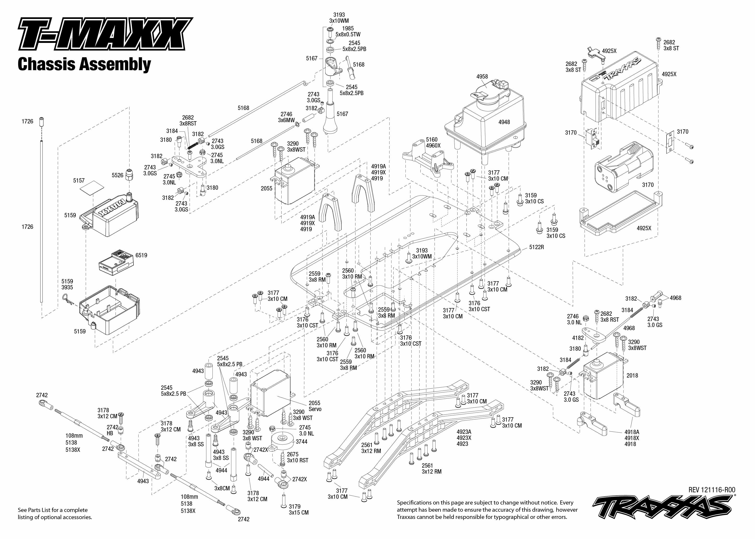 T Maxx Parts Diagram