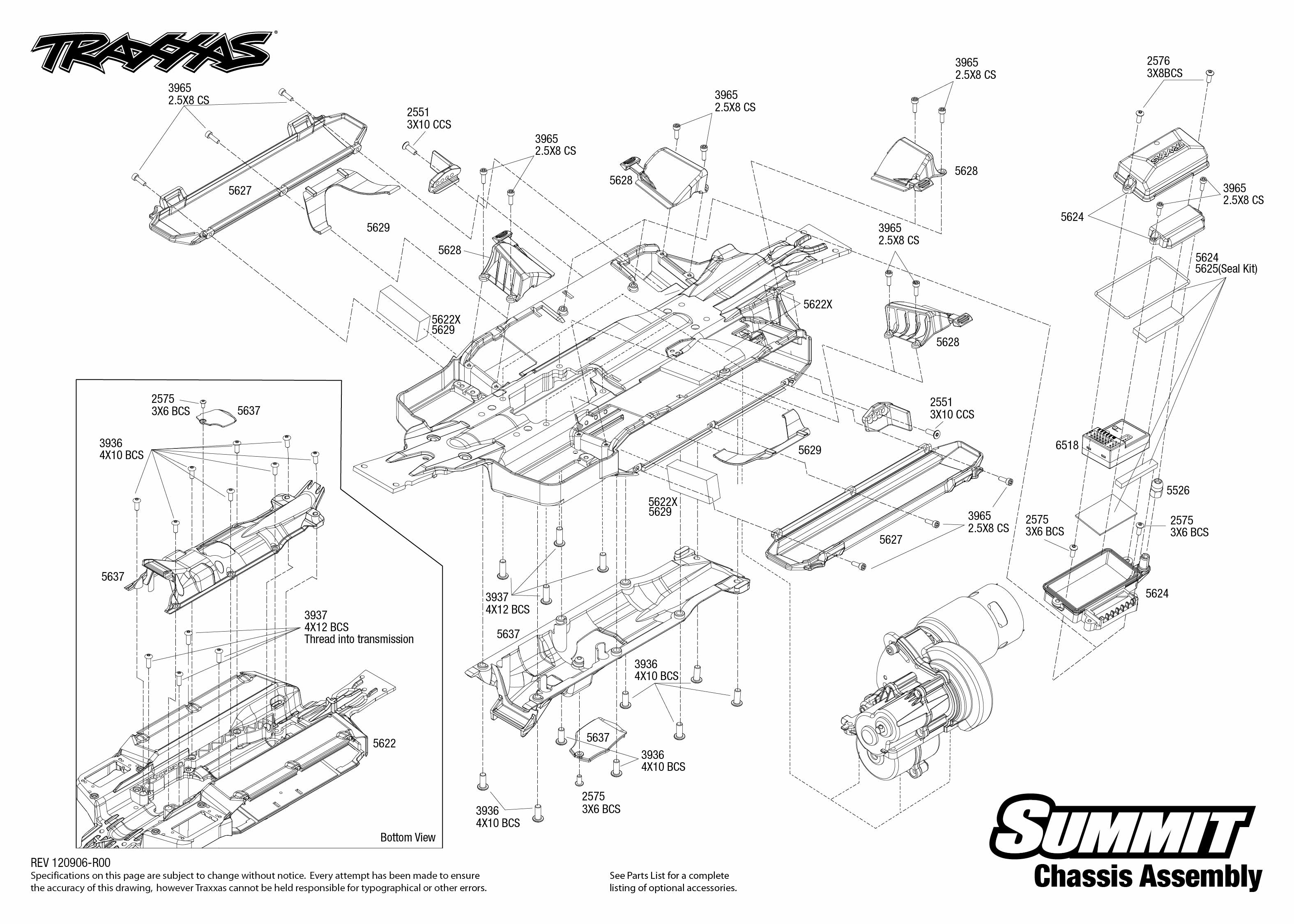 Traxxas 1 10 Scale Summit 4wd Extreme Terrain Monster