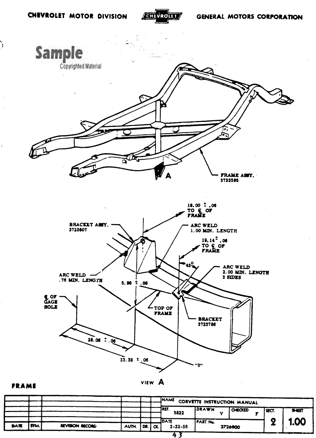 Chevy Corvette 427 Engine