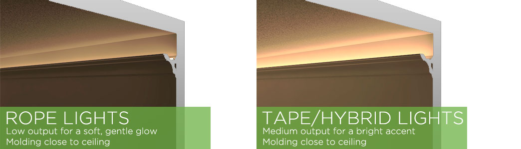 lighting your coves and crown molding