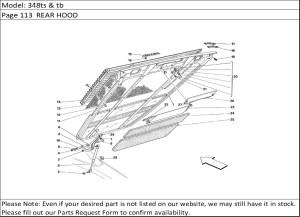 Buy Ferrari Part # 62808000 INSULATION (MAR)(New Part #62808000) Buy Ferrari Spares