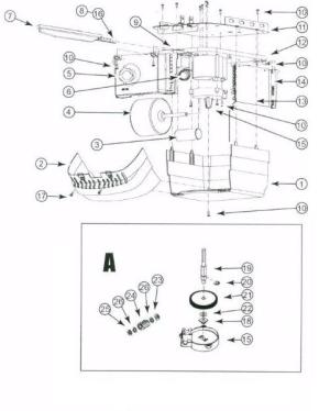Genie Chain Glide Garage Door Opener Replacement Parts