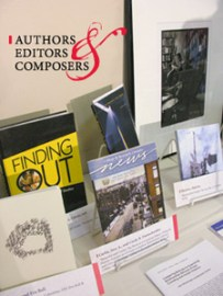 Authors, Editors & Composers Display