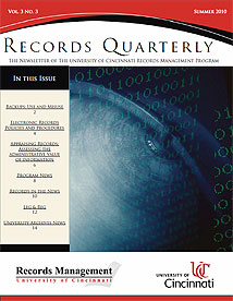 Records Quarterly Summer 2010