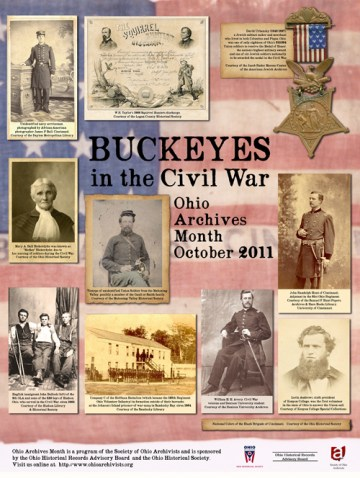 Ohio Archives Month Poster