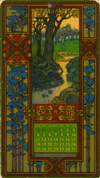 March 1906 Calendar Card