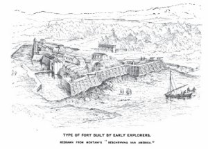 Early American Fort