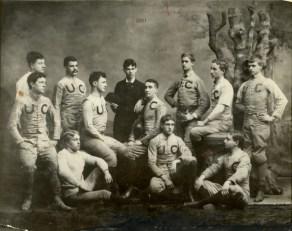 UC Football Team in 1891