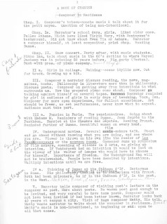 Page 1 of Manuscript about Cage and Ames
