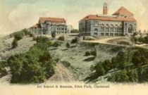 Postcard showing Cincinnati Art Museum