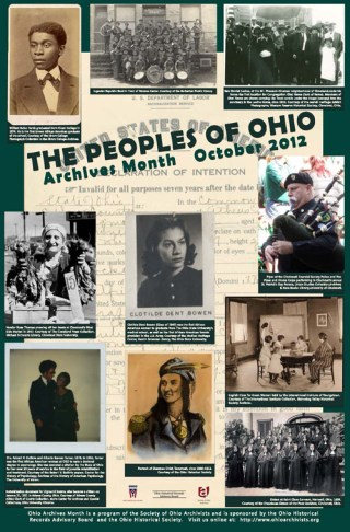 Archives Month Poster