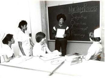 Nursing Classroom 1978