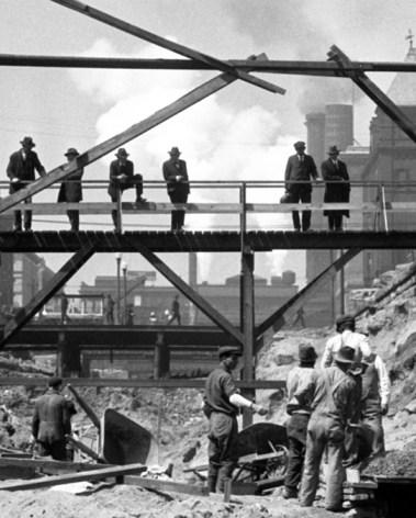 Overlooking Construction
