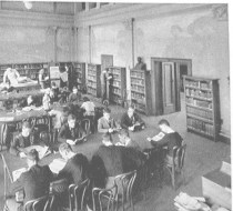 Engineering Library (now CEAS Library), ca. 1938.