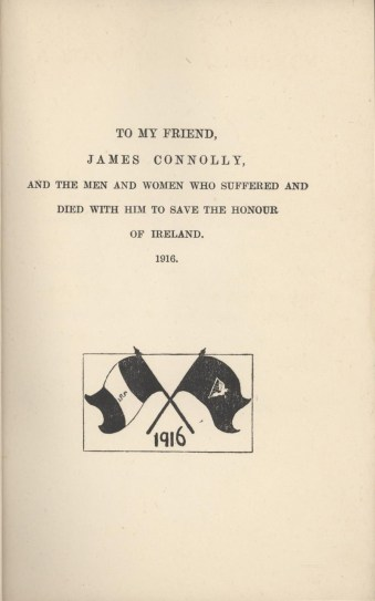 Dedication of the Cavanagh book