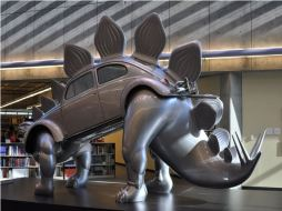 Stegowagenvolkssaurus, also by Patricia Renick, at the Steely Library at Northern Kentucky University.