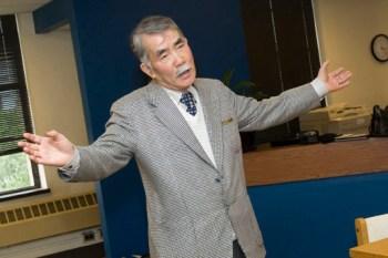 Kinji Tanaka, Japanese businessman and collector of Lafcadio Hearn articles.