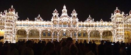 Mysore palace.