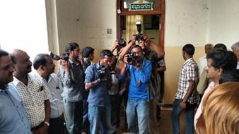 Newspaper photographers