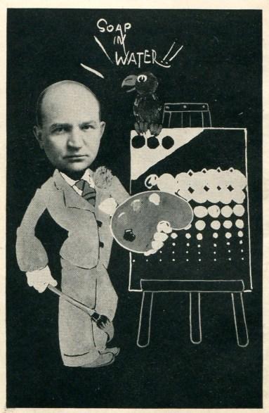Caricature of Dr. Fischer