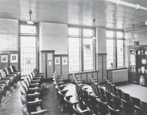 Dr Fischer Lecture Room Stained Glass Windows
